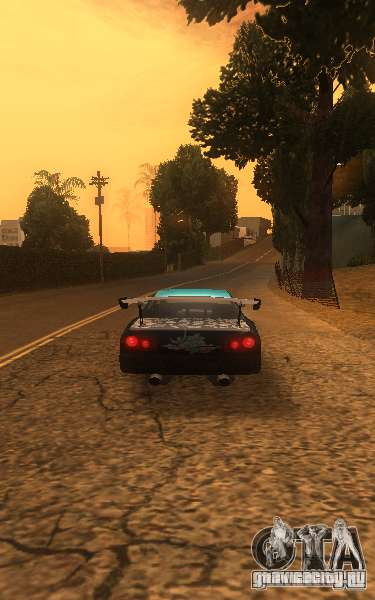 Elegy Nongrata by_k1x для GTA San Andreas вид сзади слева