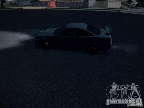 Nissan Skyline Z-Tune для GTA San Andreas вид сбоку