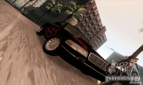 Ford Crown Victoria 2003 для GTA San Andreas вид сверху