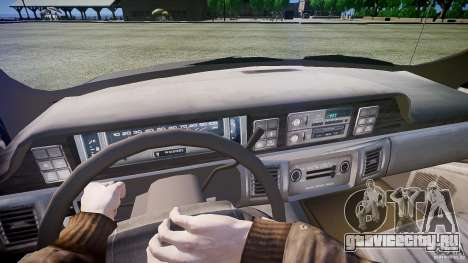 Chevrolet Caprice Civil 1992 v1.0 для GTA 4 вид сзади