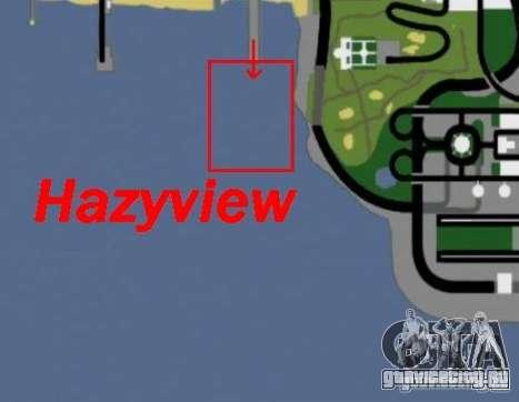 Hazyview для GTA San Andreas четвёртый скриншот