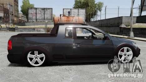 Volkswagen Saveiro Cross Edit для GTA 4 вид слева