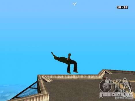 Паркур Мод для GTA San Andreas третий скриншот