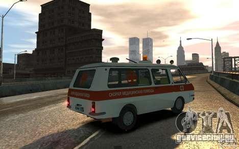 РАФ 2203 Ambulance для GTA 4 вид слева
