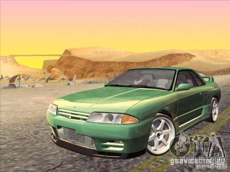 Nissan Skyline GT-R 32 1993 для GTA San Andreas вид сверху