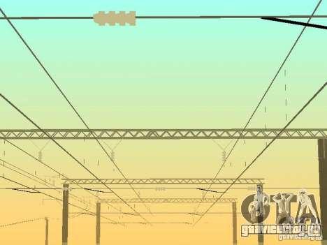Опора контактной сети v.2 для GTA San Andreas третий скриншот