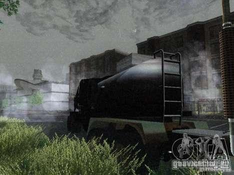 Прицеп к Armored Mack Titan Fuel Truck для GTA San Andreas
