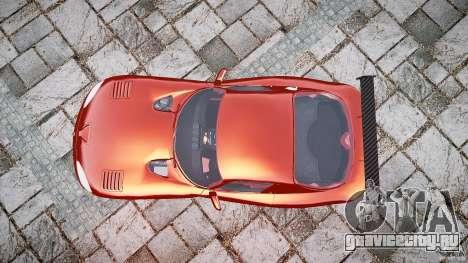 Dodge Viper 1996 для GTA 4 вид справа