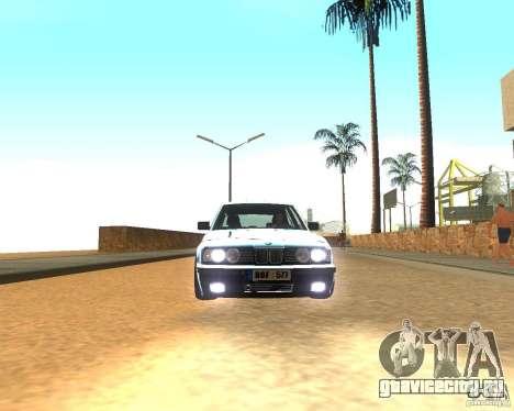 BMW 525i E34 для GTA San Andreas вид слева