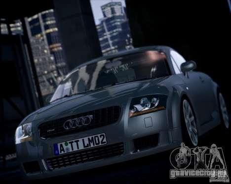 Audi TT 2004 для GTA 4 вид сзади слева
