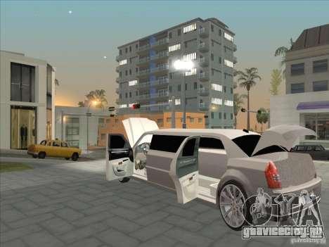 Chrysler 300C Limo для GTA San Andreas вид сбоку
