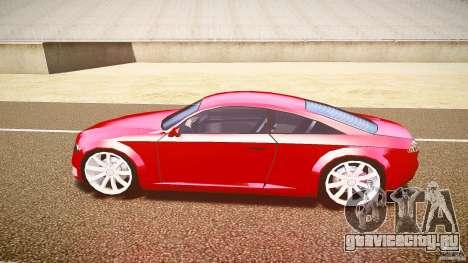 Audi Nuvollari Quattro для GTA 4 вид сзади слева