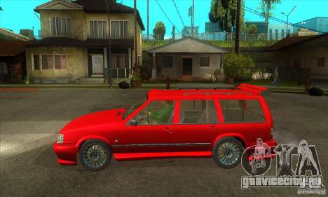 Volvo 945 Wentworth R with bodykit (1.2) для GTA San Andreas вид слева
