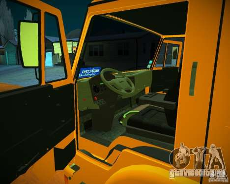 КамАЗ 6460 Бетономешалка для GTA San Andreas вид сзади