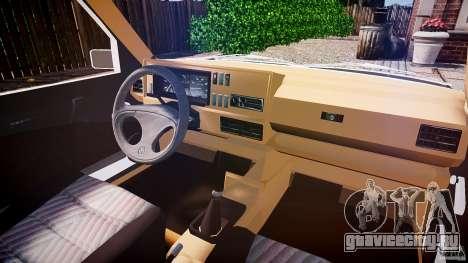 Volkswagen Jetta MKII VR6 для GTA 4 вид справа