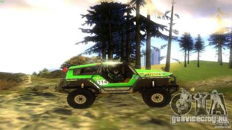 Raptor для GTA San Andreas вид справа