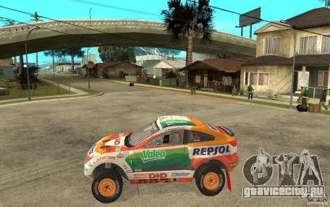 Mitsubishi Racing Lancer для GTA San Andreas вид слева