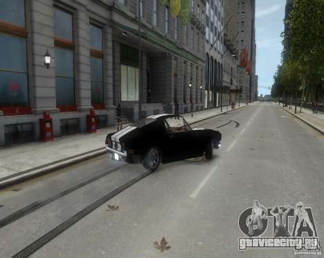 Ford Mustang Tokyo Drift для GTA 4 вид изнутри