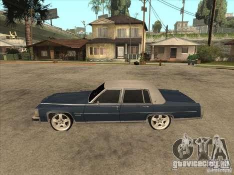 Cadillac Fleetwood Brougham 1985 для GTA San Andreas вид слева