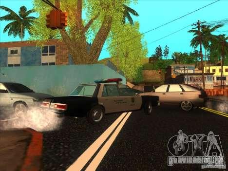 Dodge Diplomat 1985 LAPD Police для GTA San Andreas вид слева