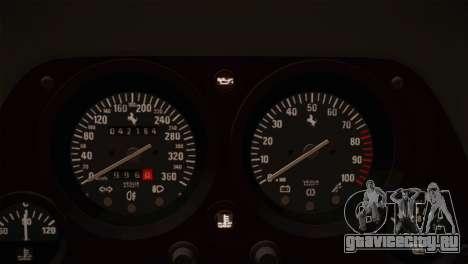 Ferrari F40 1987 для GTA San Andreas салон