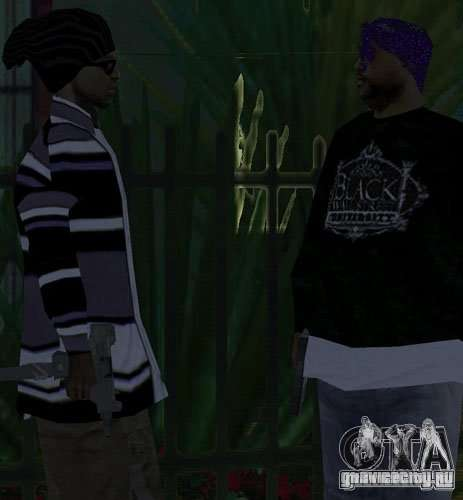 Замена банд, татуировок, одежды и т.п. для GTA San Andreas четвёртый скриншот