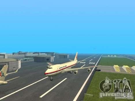 Boeing 747-100 Japan Airlines для GTA San Andreas