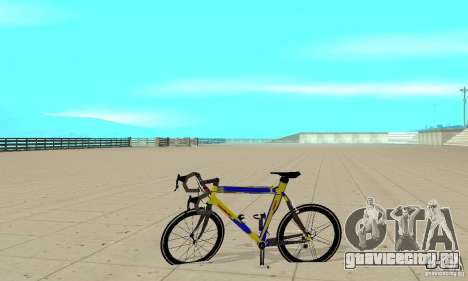 Racing Cycle Turmac Legnano для GTA San Andreas