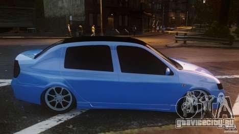 Renault Clio Tuning для GTA 4 вид слева