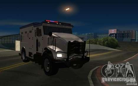 Securicar из GTA IV для GTA San Andreas вид справа