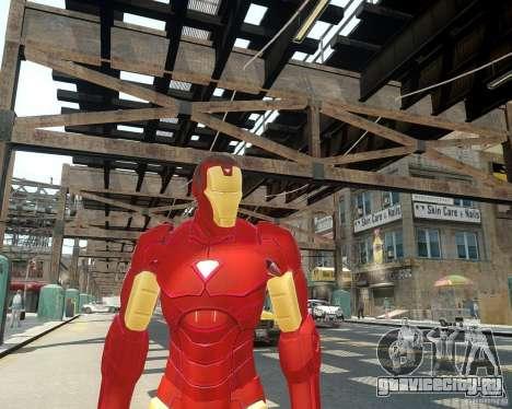 Iron Man Mk3 Suit для GTA 4 третий скриншот