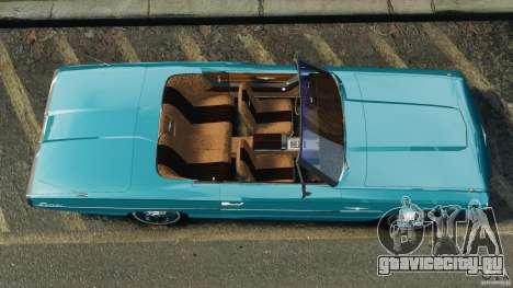 Ford Thunderbird Light Custom 1964-1965 v1.0 для GTA 4 вид справа