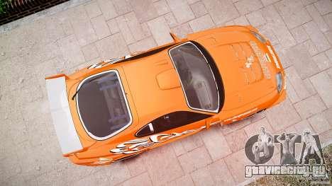 Toyota Supra MK4 Tunable v1.0 для GTA 4 вид снизу