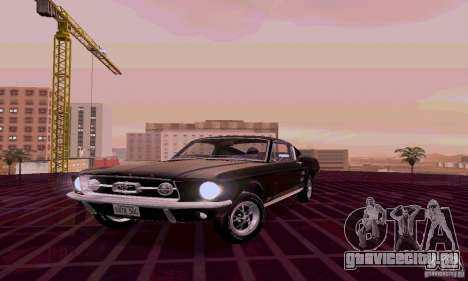 Ford Mustang 1967 для GTA San Andreas