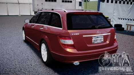 Mercedes-Benz C 280 T-Modell/Estate для GTA 4