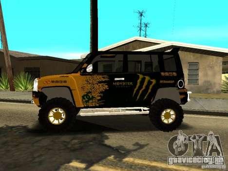 Scion xB OffRoad для GTA San Andreas вид слева