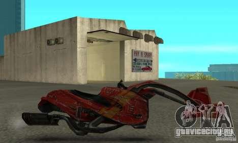 Новый байк из Star Wars для GTA San Andreas вид слева