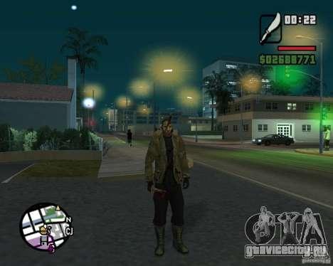 Джейсон Вурхис для GTA San Andreas второй скриншот