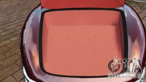 Mercedes-Benz 300 SL Roadster v1.0 для GTA 4 вид сверху