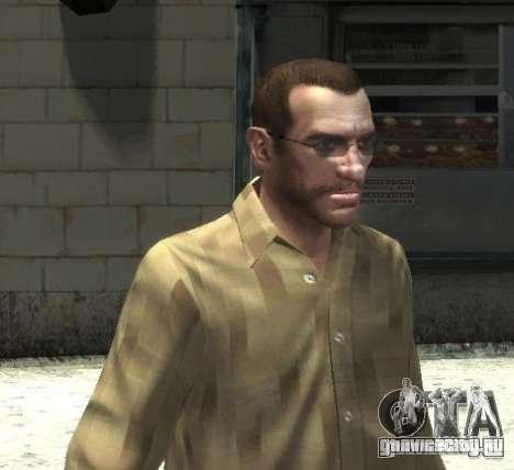 Новые очки для Нико - светлые для GTA 4 третий скриншот