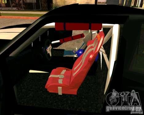 Hotring Racer Tuned для GTA San Andreas салон