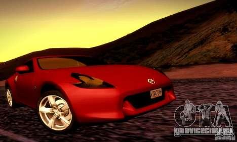 Nissan 370Z V2 для GTA San Andreas вид справа