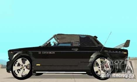 ВАЗ 2106 Fantasy ART tunning для GTA San Andreas вид сзади слева