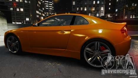 Audi S5 Conceptcar для GTA 4 вид слева