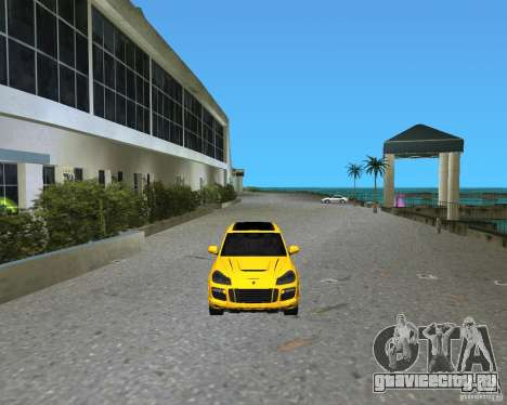 2009 Porsche Cayenne Turbo для GTA Vice City вид слева