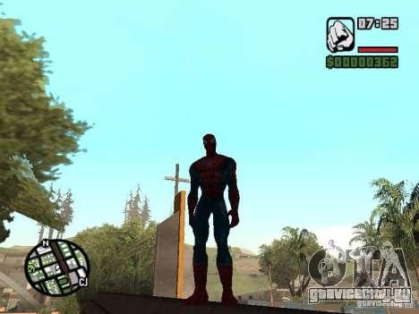 Spider Man From Movie для GTA San Andreas пятый скриншот