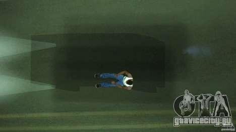 Невидимая Blista Compact для GTA San Andreas вид изнутри