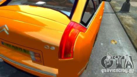 Citroen C6 для GTA 4 вид слева