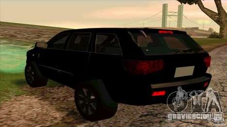 Dodge Durango 2012 для GTA San Andreas вид справа