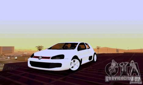 Volkswagen Golf 5 GTI W12 для GTA San Andreas